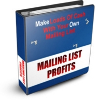Product picture How To Make Money Fast From Your Mailing List (PLR)