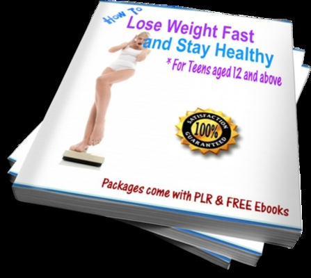 Product picture How To Lose Weight Fast and Stay Healthy for Teens 12 (PLR)